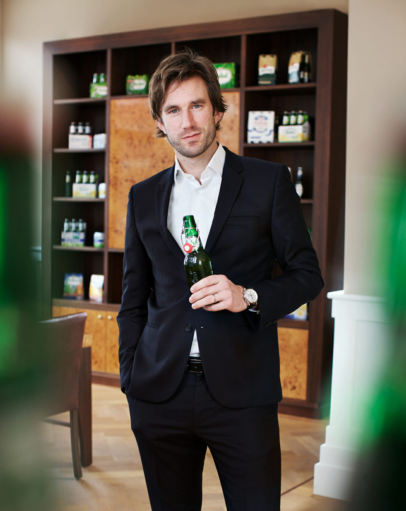 Portret Grolsch marketing manager Bob Rog in opdracht van Top of Minds