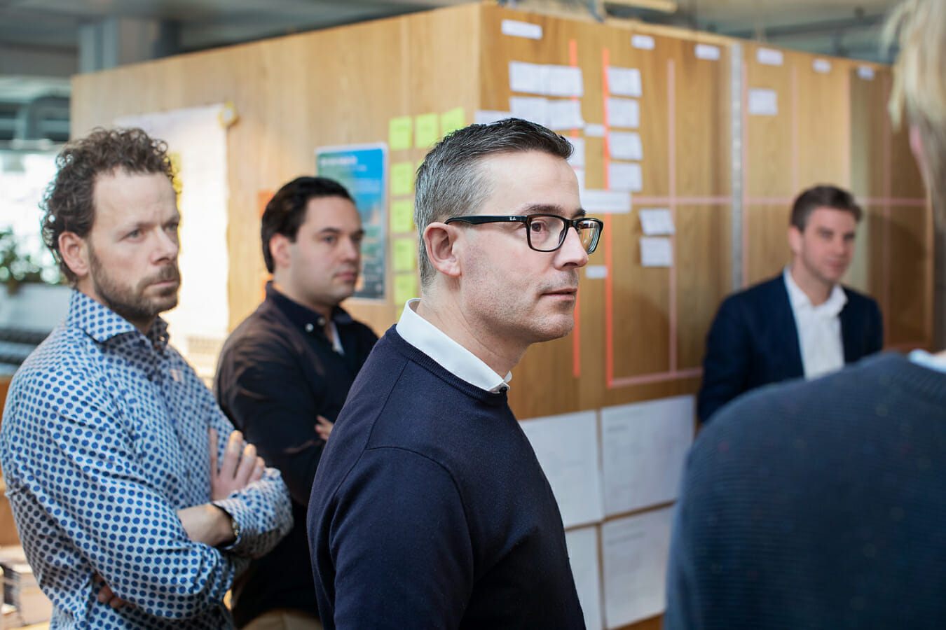Reportage scenes van medewerkers KPN voor TeamKNP, beeldbank en jaarverslag