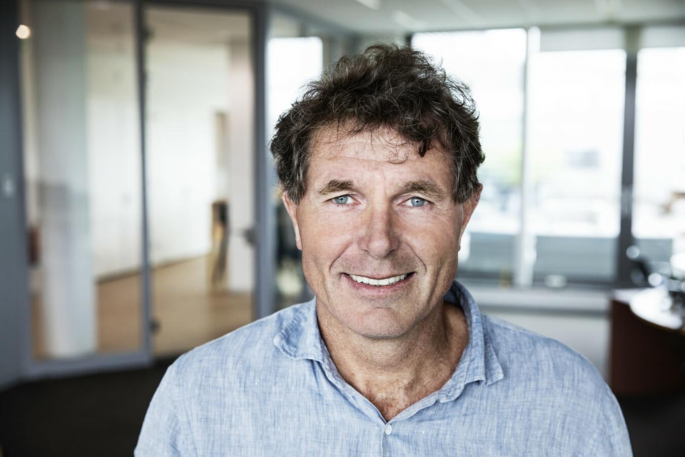 Portret van Onno van de Stolpe, CEO Galapagos